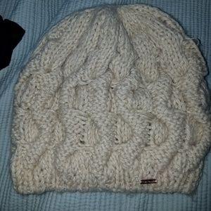 Free People crochet beanie hat